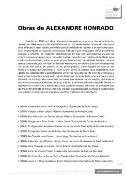 Obras de ALEXANDRE HONRADO