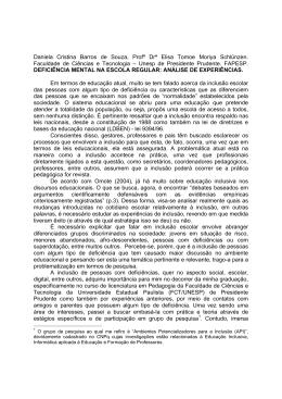 Daniela Cristina Barros de Souza, Profª Drª Elisa Tomoe Moriya