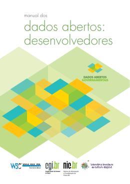 Manual dos dados abertos : desenvolvedores