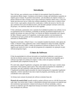 Pirataria - Instituto de Computação