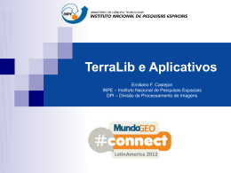 TerraLib e Aplicativos - MundoGEO#Connect 2016