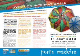 iNviTATiON iNTERNATiONAlE