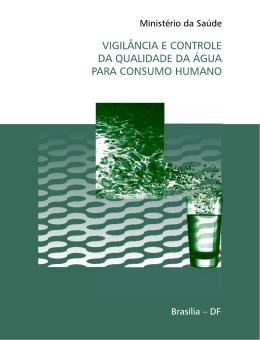 Vigilância e controle da qualidade da água para consumo humano