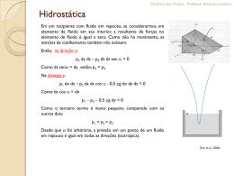 Hidrostática - eduloureiro.com.br