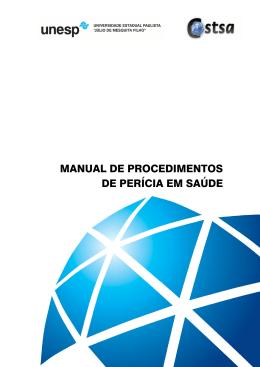 MANUAL DE PROCEDIMENTOS DE PERÍCIA EM SAÚDE