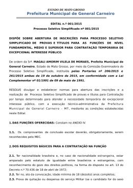 Prefeitura de General Carneiro/MT