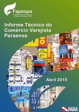 informe técnico do comércio varejista paraense em abril