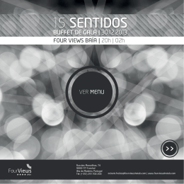 15 SENTIDOS - Four Views Hotels