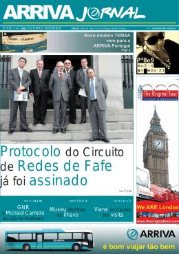 de Redes de Fafe - Arriva Portugal