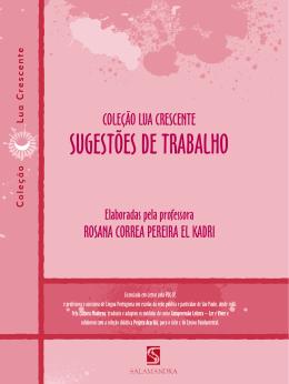 SUGESTÕES DE TRABALHO