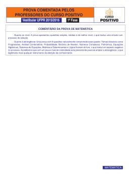 55 a 63 - ufpr - 1a fase - matematica 2015_2016