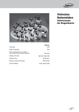 Válvulas Solenóides
