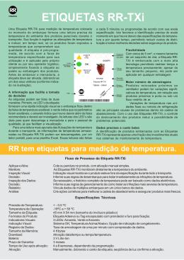 Baixe o PDF - RR Etiquetas