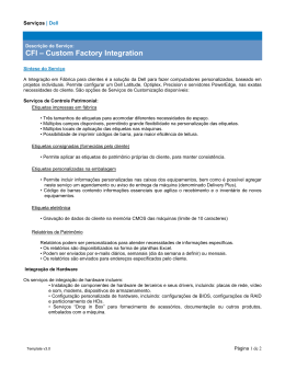CFI – Custom Factory Integration