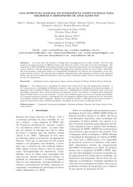 Uma estrutura baseada em inteligência computacional para