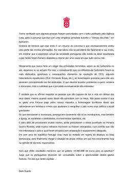 Versão para impressão - Casa Real Portuguesa