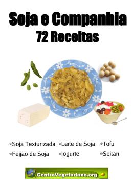 72 receitas de soja e companhia