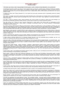 REVISTA ÂMBITO JURÍDICO ® Filosofia do direito 1) Do direito