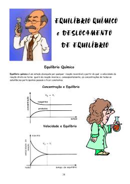 O Equilíbrio Químico