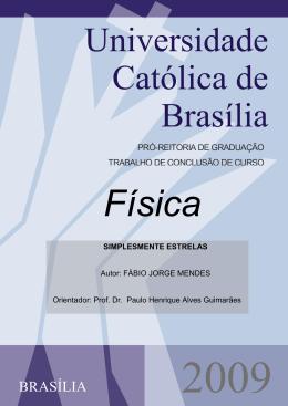 Simplesmente Estrelas - Universidade Católica de Brasília