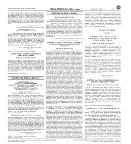 153 3 Ministério das Relações Exteriores Ministério de
