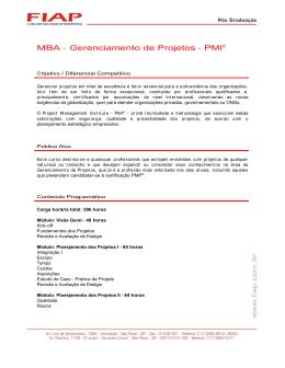 MBA - PMI.DOC
