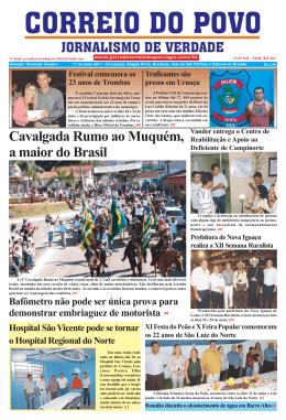 Cavalgada Rumo ao Muquém, a maior do Brasil