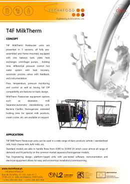 MilkTherm brochure