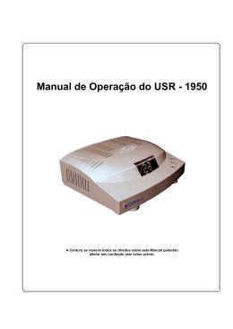 MANUAL DO USR1950