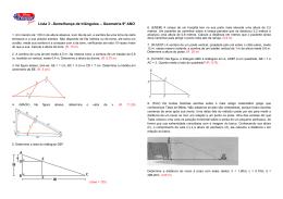 03 Semelhança Triângulos