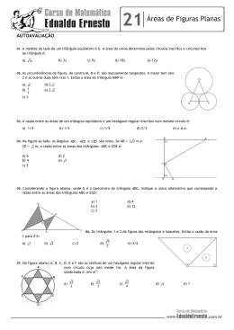01. (Unb) Um retângulo tem 13 centímetro de