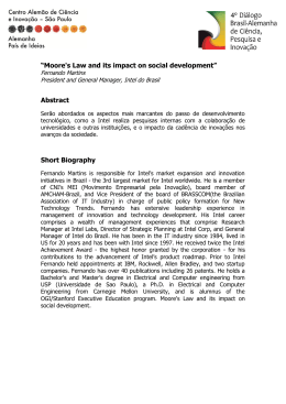 """Moore`s Law and its impact on social development"" Abstract Short"