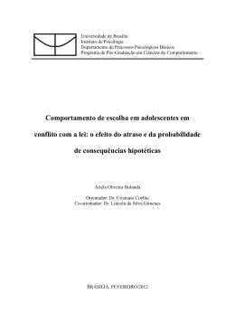 Ariela Oliveira Holanda - Universidade de Brasília