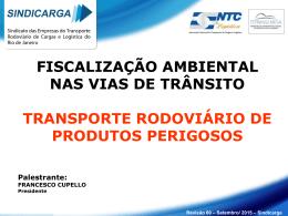 FISCALIZAÇÃO AMBIENTAL NAS VIAS DE TRÂNSITO TRANSPORTE RODOVIÁRIO