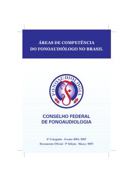 Áreas de Competência do Fonoaudiólogo no Brasil