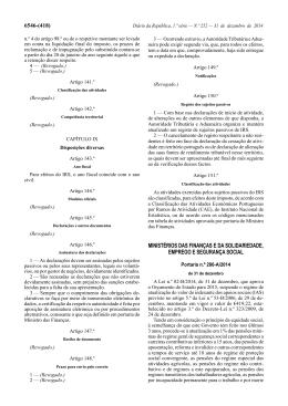 Portaria n.º 286-A/2014