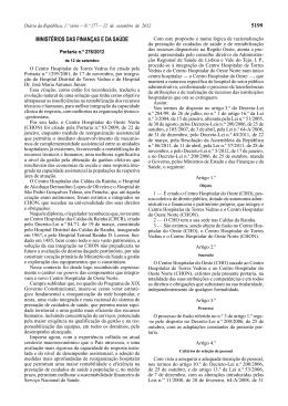 Portaria n.º 276/2012 - Secretaria