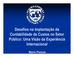 Desafios na Implantação da Contabilidade de Custos no Setor Público
