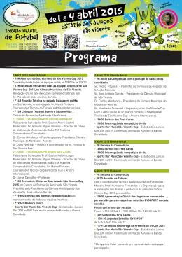 Programa SVC 2015