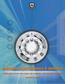 MANUAL DE SEGURANÇA E SERVIÇO