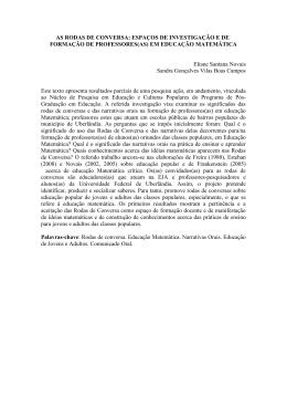resumo - ESEBA - Universidade Federal de Uberlândia