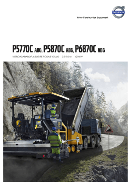 P5770C-P5870C-P6870C - Volvo Construction Equipment