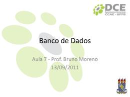 Aula 7 - Bruno Neiva Moreno