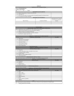 ANEXO IV - Planilha de custos e formação de preços