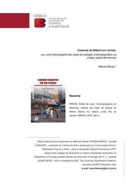 Cinemas de Niterói em revista: por uma historiografia das salas de