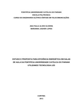 estudo e proposta para eficiência energética em salas de
