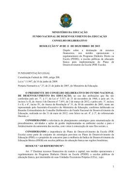 resolução nº 49 - 2013 - PDE Escola