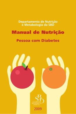 Manual de Nutrição - Sociedade Brasileira de Diabetes