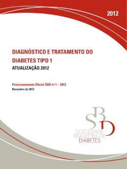 Diagnóstico E tRataMEnto Do DiabEtEs tipo 1 - Portal Saúde