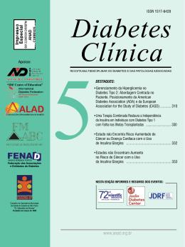 •Gerenciamento da Hiperglicemia no Diabetes Tipo 2